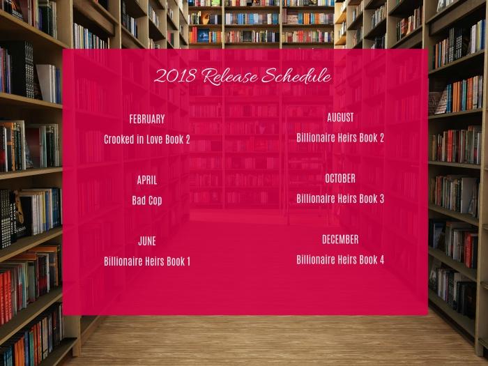 2018 Release Schedule