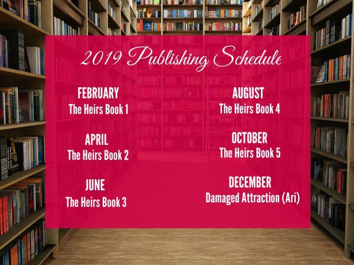 2019 release schedule